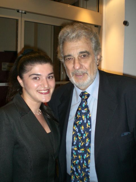 Anna and Placido Domingo